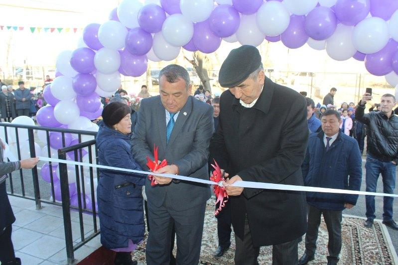 Школу на 300 мест открыли в Келесском районе Туркестанской области