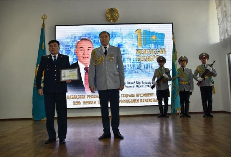 Тұңғыш Президент күні: Қарағандыда 170 полицей марапатталды