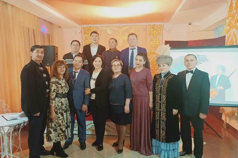Творческий вечер Сарсенбая Хасенова прошел в Акмолинской области