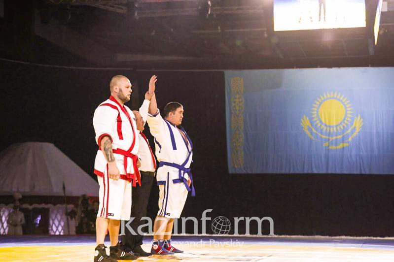 «Әлем барысы»: Айбек Нұғымаров финалға шықты