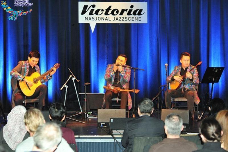 Казахская этно-фолк группа выступила на норвежской джаз-сцене