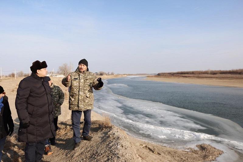 Проект по защите от затопления планируют реализовать в одном из сел Атырауской области