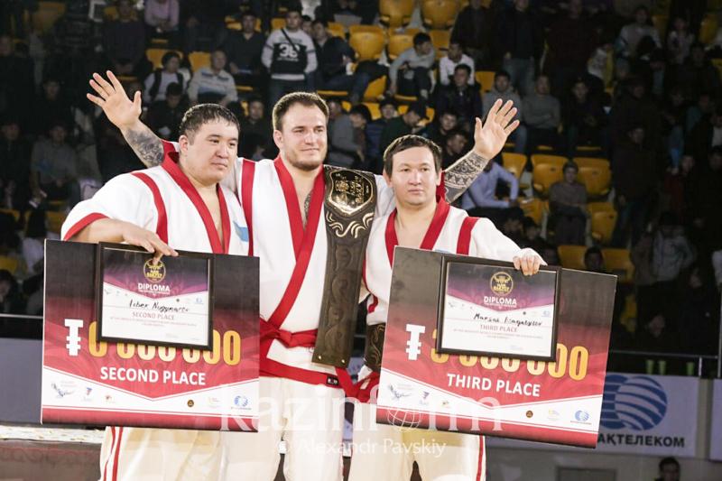 Очень рад своему результату – бронзовый призер «Әлем Барысы»