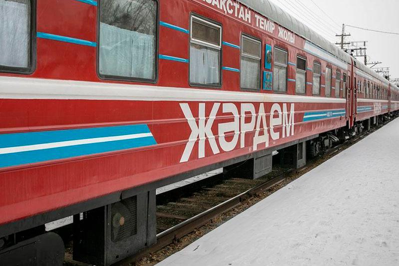 Врачи медпоезда «Жәрдем» в Атырауской области приняли более 14 тысяч пациентов