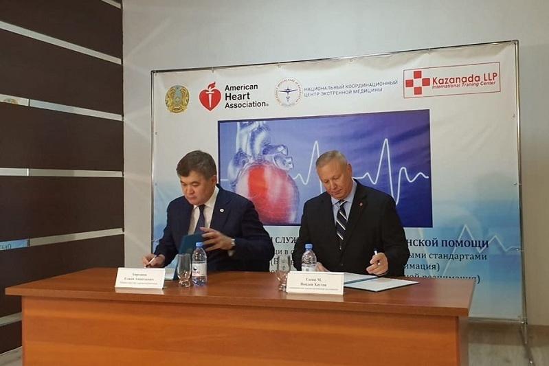 Навыкам оказания первой медпомощи казахстанцев будут обучать по международному стандарту