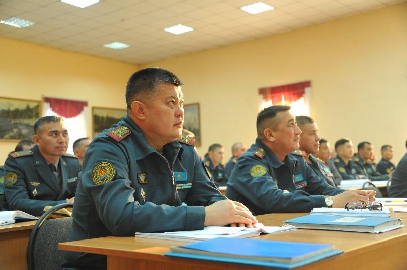 Новый учебный год начался в армии Казахстана