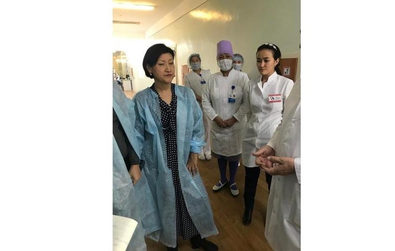 Маңғыстауда көпбейінді балалар ауруханасының жұқпалы аурулар бөлімі жөндеуден өтеді