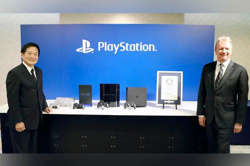 Sony's PlayStation recognized as world's best-selling game console