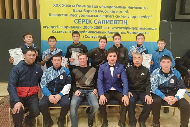 Серік Сәпиев жүлдесіне арналған бокс жарысында ақмолалықтар 5 медаль иеленді