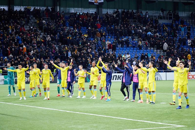 哈萨克斯坦欧足联排名上升一位