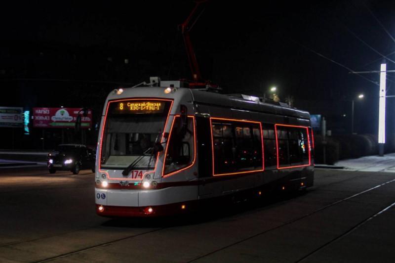 В Павлодаре ко Дню независимости появятся светящиеся трамваи