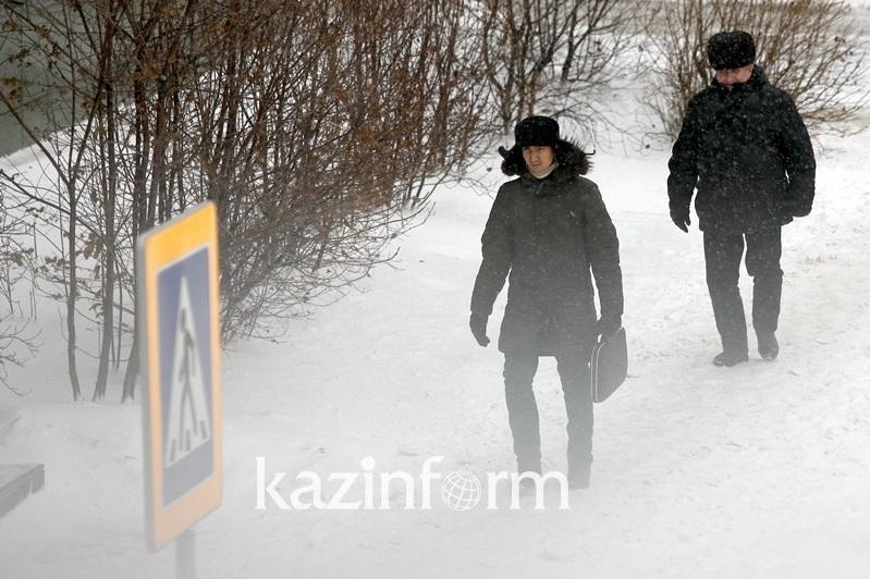 Wintry mix forecast in Kazakhstan Dec 5
