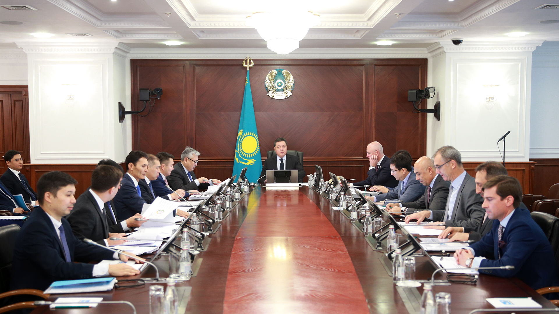 PM held board meeting of Kazakh Invest