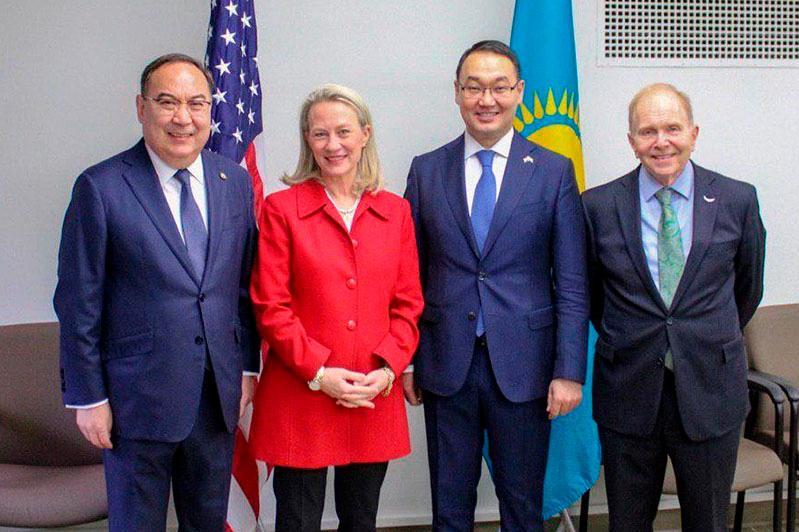 Kazakhstan-U.S. enhanced strategic partnership discussed in Washington, D.C.