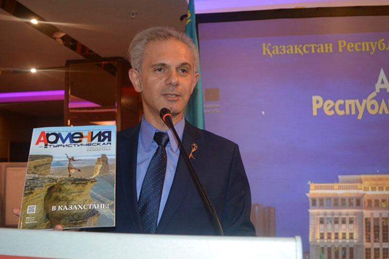 Tourism potential of Kazakhstan presented in Armenia