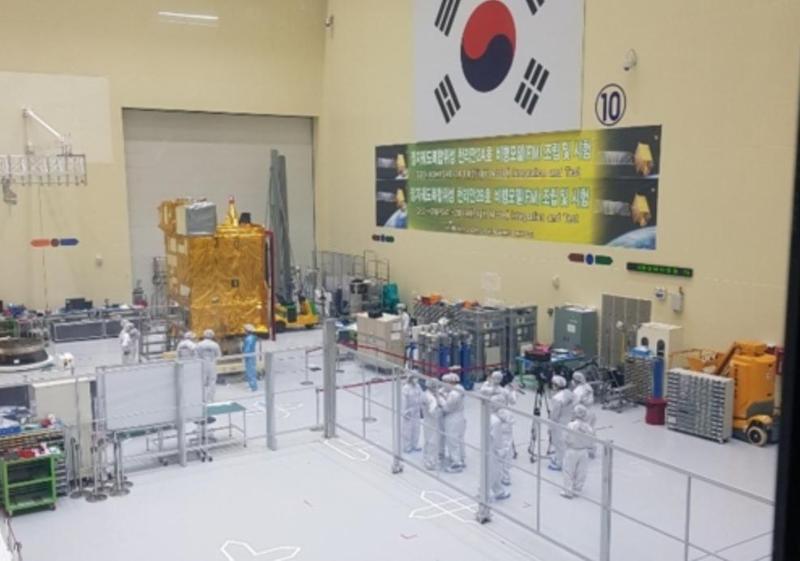 韩国计划于明年发射自研卫星千里眼2B