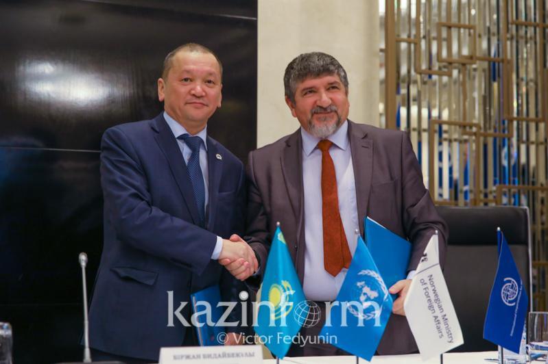 Kazakh Labour Ministry, IOM enter into coop memo