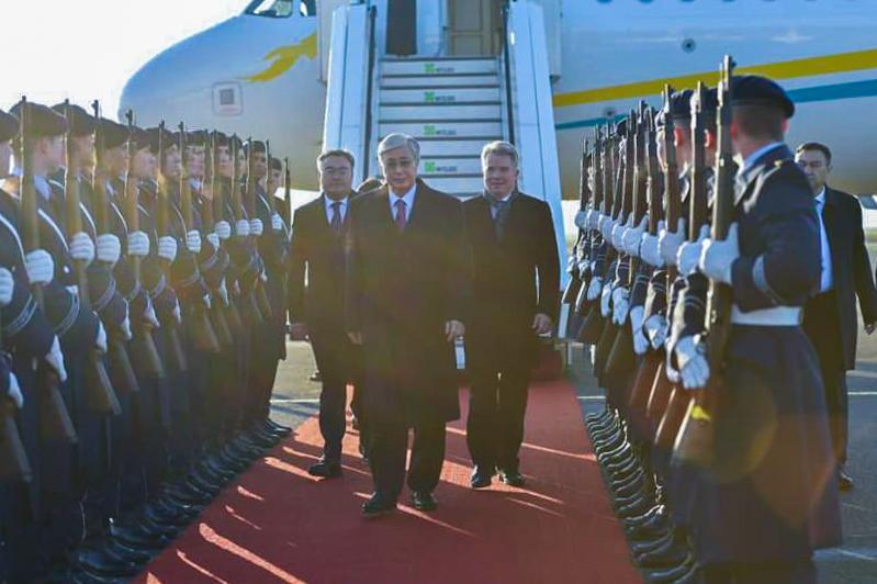 Касым-Жомарт Токаев прибыл с официальным визитом в Германию
