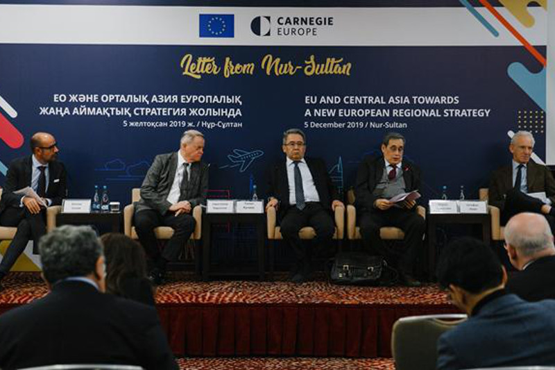 EU presents «Letter from Nur-Sultan» together with the Carnegie Europe