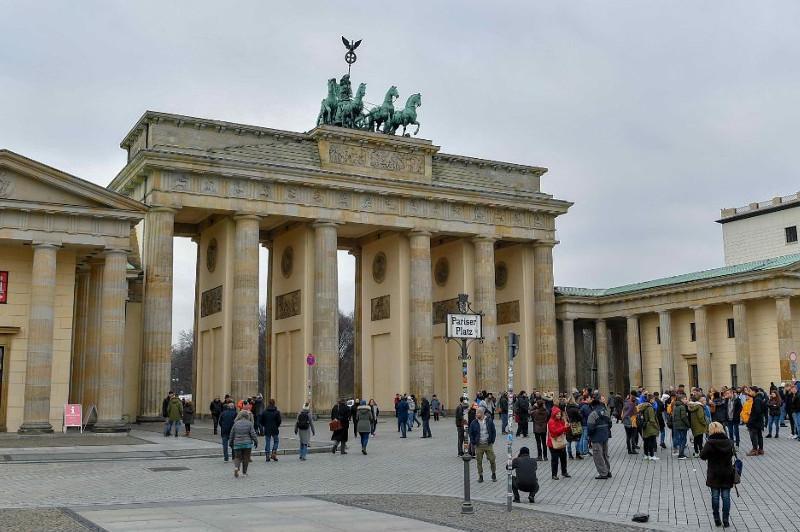 ФОТОРЕПОРТАЖ: Как выглядит Берлин во время визита Президента Казахстана