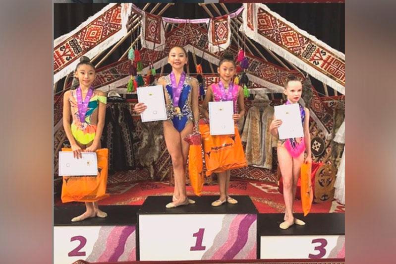 11yo girl from Pavlodar wins prestigious rhythmic gymnastics tournament