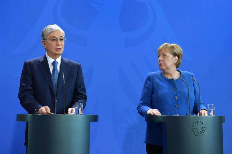 Tokayev hopes his visit will boost cooperation between Kazakhstan and Germany