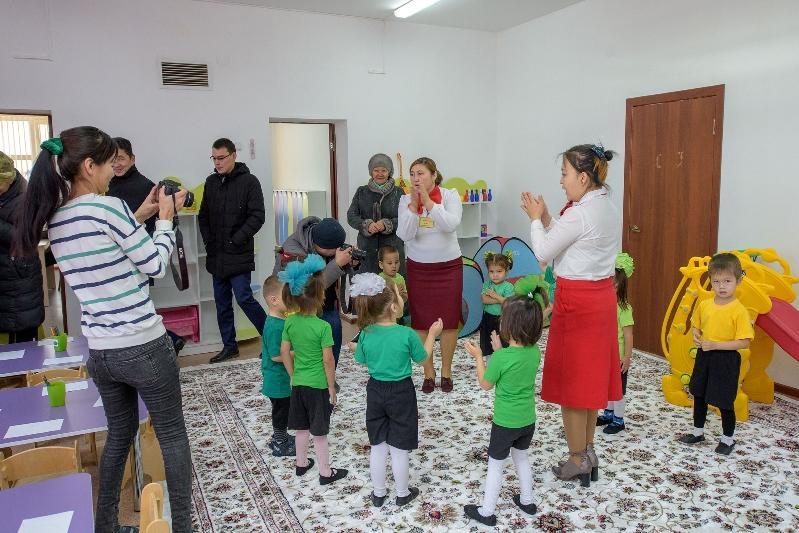Новый детсад построили в отдаленном селе Атырауской области