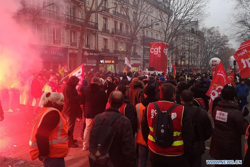 Nationwide strike in France challenging Macron's pension reform