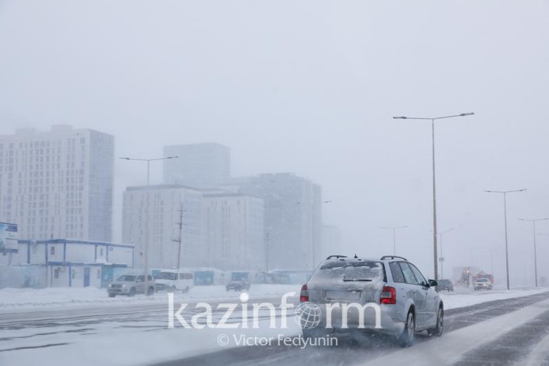 Туманы и гололед сохранятся7-9 декабря в Казахстане