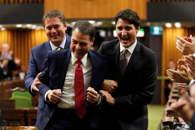Canada's members of parliament elect new House of Commons speaker