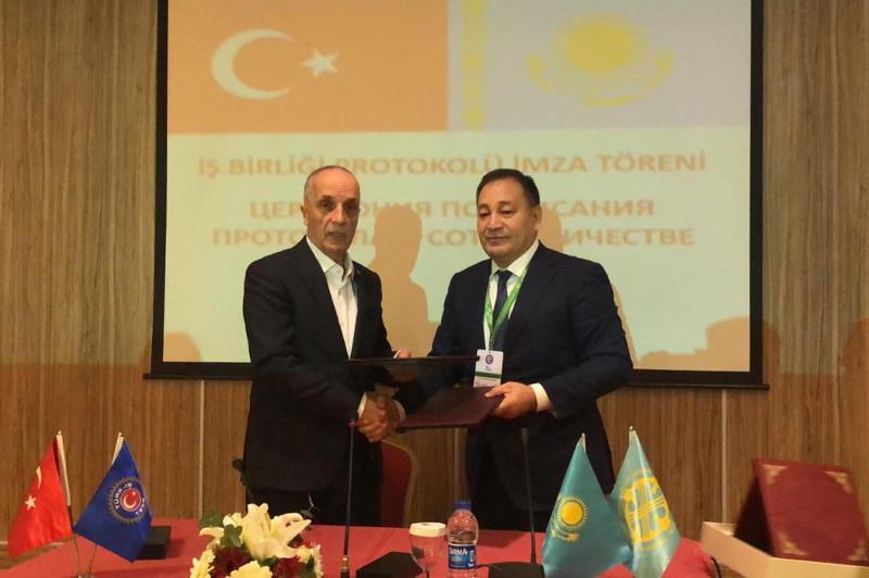 哈萨克斯坦和土耳其工业联合会签署合作备忘录