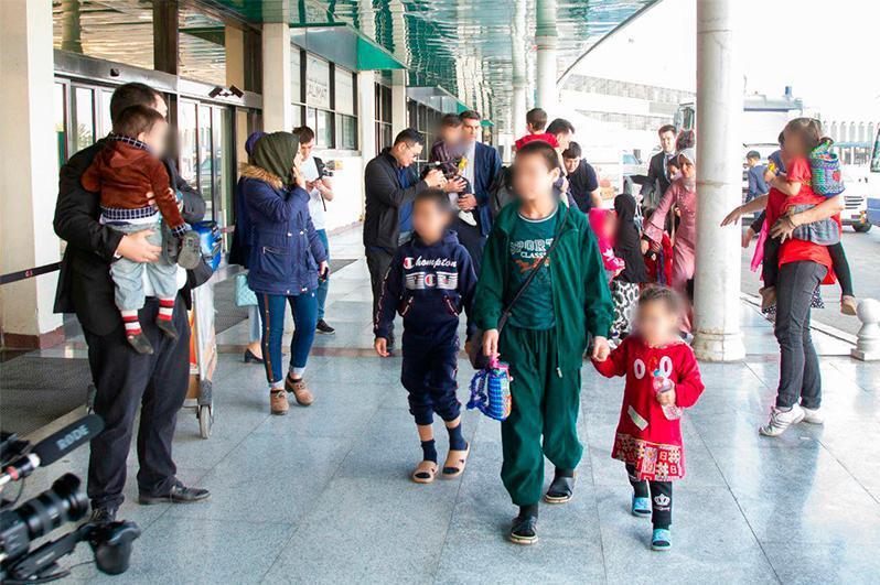 International Committee of the Red Cross welcomes return of Kazakh children from Iraq