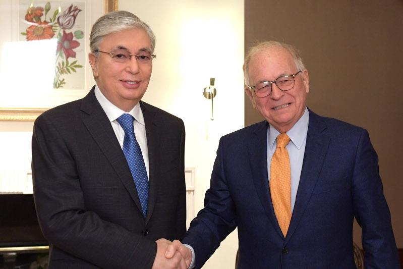 President Tokayev meets Chairman of Munich Security Conference Wolfgang Ischinger