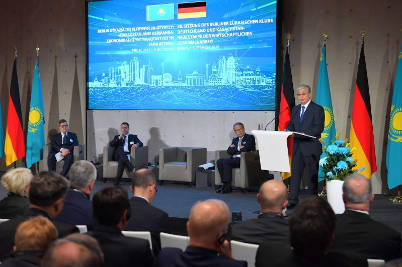 President  Tokayev took part in 28th meeting of Berlin Eurasian Club