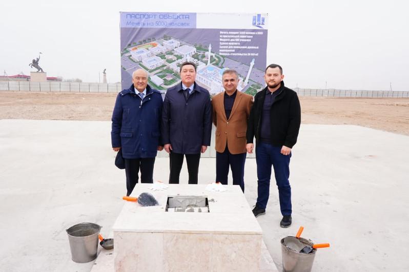 В Туркестане построят уникальную мечеть