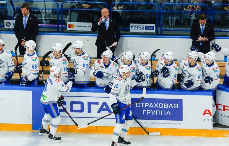 ХК «Барыс» отправился на выездную серию КХЛ
