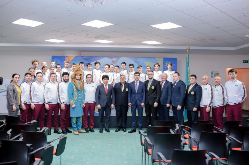 39 казахстанских спортсменов проводили на Сурдлимпийские игры в Италии