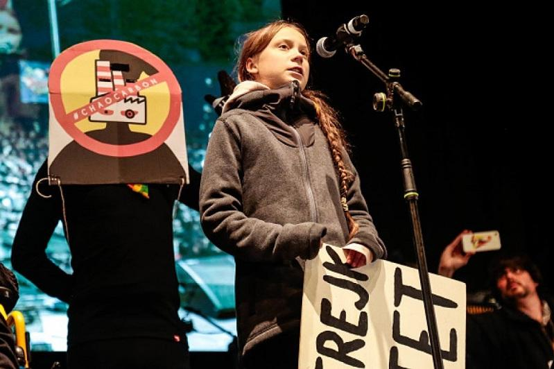 Greta Thunberg calls for action at Madrid climate demonstrations
