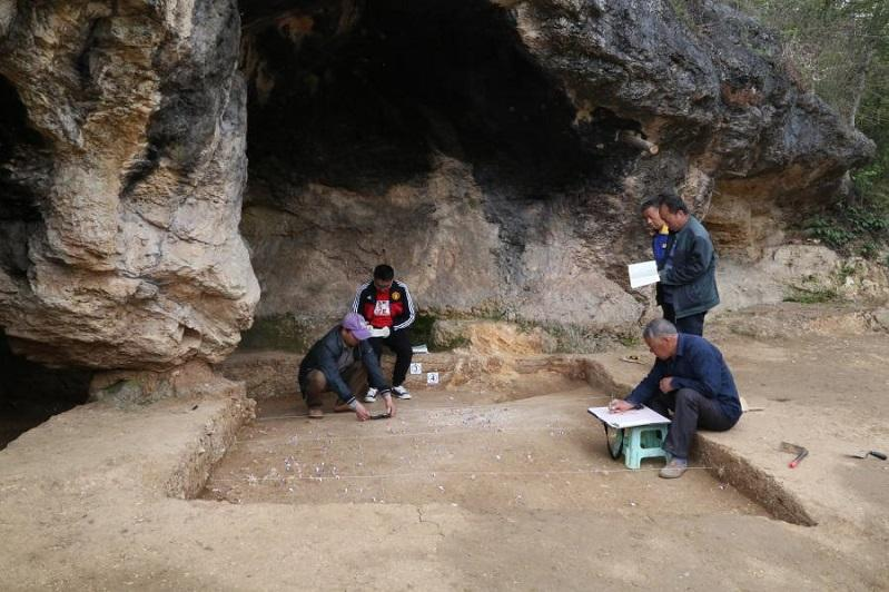 Paleolithic relics found in NW China