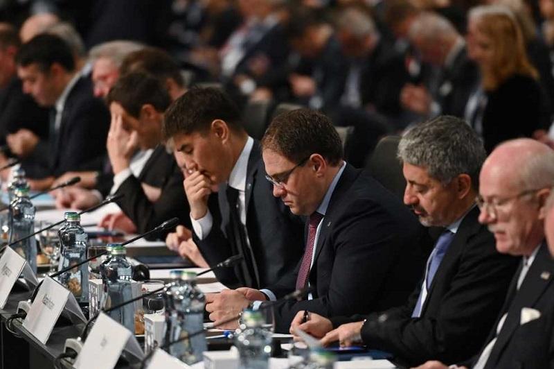 哈萨克斯坦代表团出席欧安组织外长理事会会议