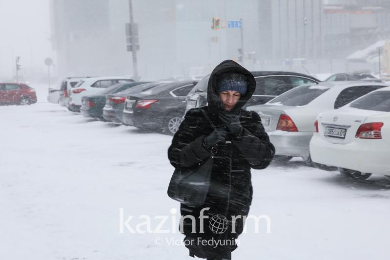 В столице и в 4 областях объявили штормовое предупреждение