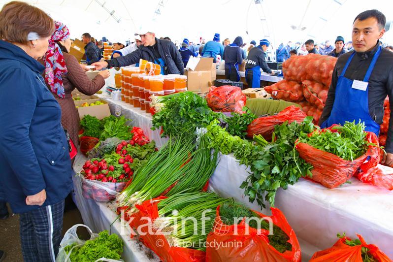 Астанада тәуелсіздік күніне орай 4 күн бойы азық-түлік жәрмеңкесі өтеді
