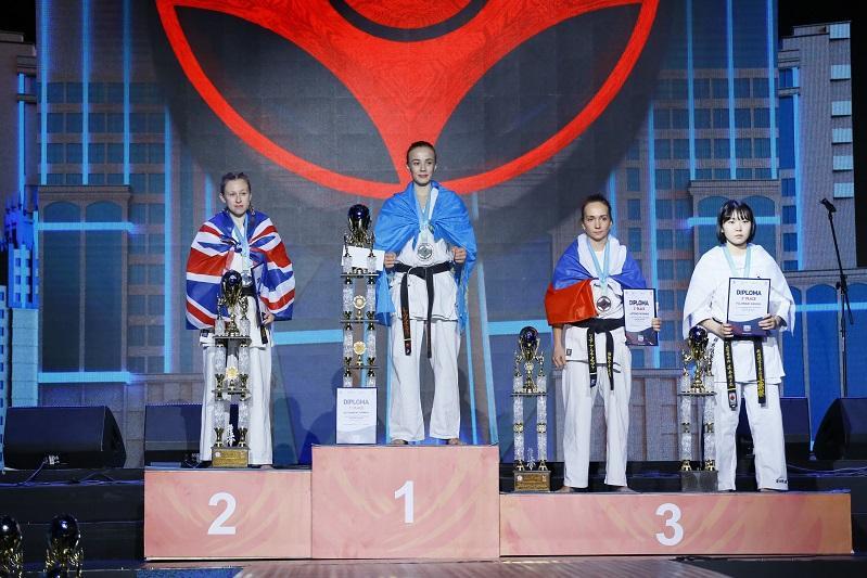 Казахстанские каратисты завоевали три «золота» ЧМ по киокушинкай
