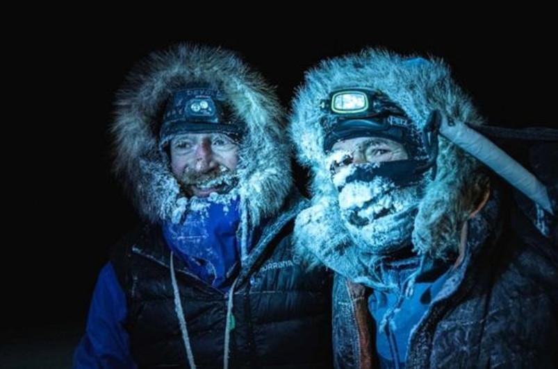 Норвегиялық екі ғалым Арктикадағы 1800 шақырым жолды жүріп өтті