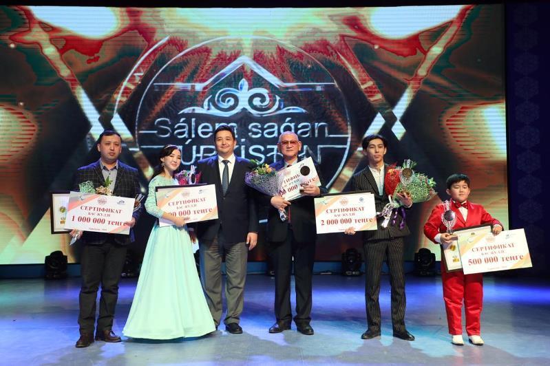 В Туркестане прошел фестиваль искусств, посвященный Дню независимости Казахстана