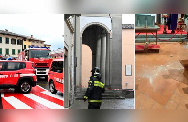 意大利佛罗伦萨地震 火车服务受影响