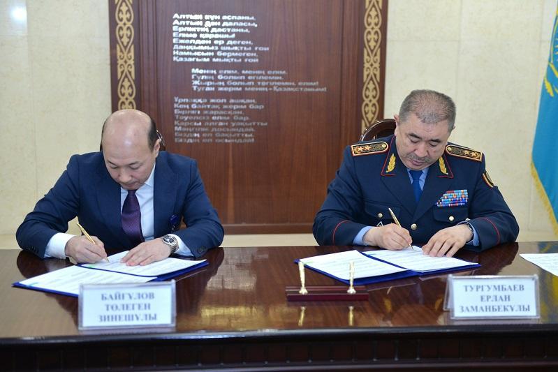 МВД РК будет сотрудничать с Первым антикоррупционным медиа-центром