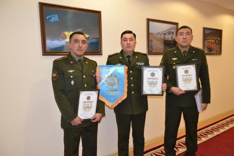 Петропавловская пожарная часть вошла в тройку лучших в стране