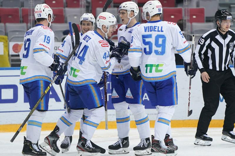 Barys pull out last minute victory over Avangard
