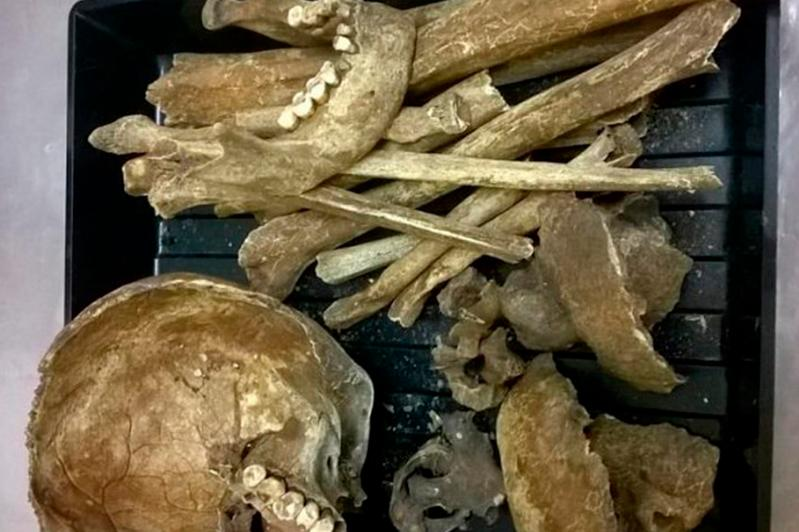 Medieval burial unearthed in North Kazakhstan